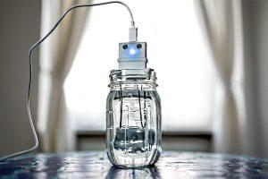 Получение серебряной воды в домашних условиях